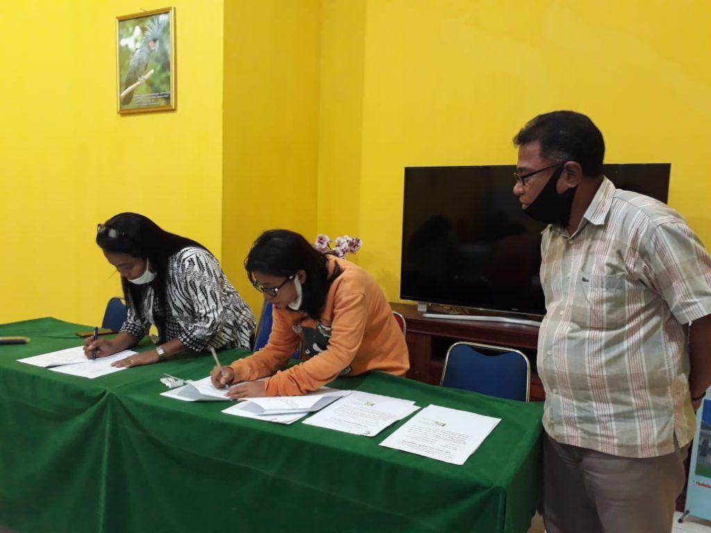 Alumni Faperta UNPATTI terima Hibah Kementerian Pertanian