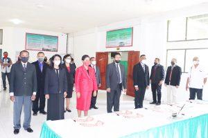 Matinahoru Lantik Kejur, Sekjur, dan Ketua Prodi Fakultas Pertanian
